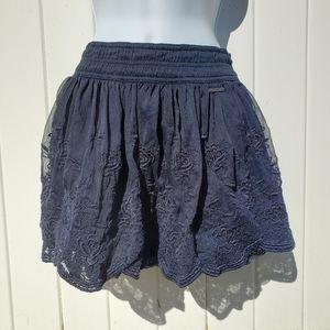 Abercrombie Ruffle Skirt
